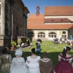 Loretánské slavnosti 2011 v Rumburku historická módní přehlídka, foto Jiří Stejskal