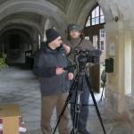 Natáčení pořadu Toulavá kamera v Loretě Rumburk v roce 2011