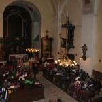 2, Loretánská muzejní noc 2014 v Rumburku, sbor Zpěváček z Rumburku, foto Klára Mágrová