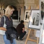 výstava cesty franze k v roce 2011 v ambitu Lorety Rumburk, foto Klára Mágrová