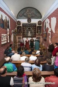 Interiér loretánské kaple v Rumburku. Foto Jiří Stejskal