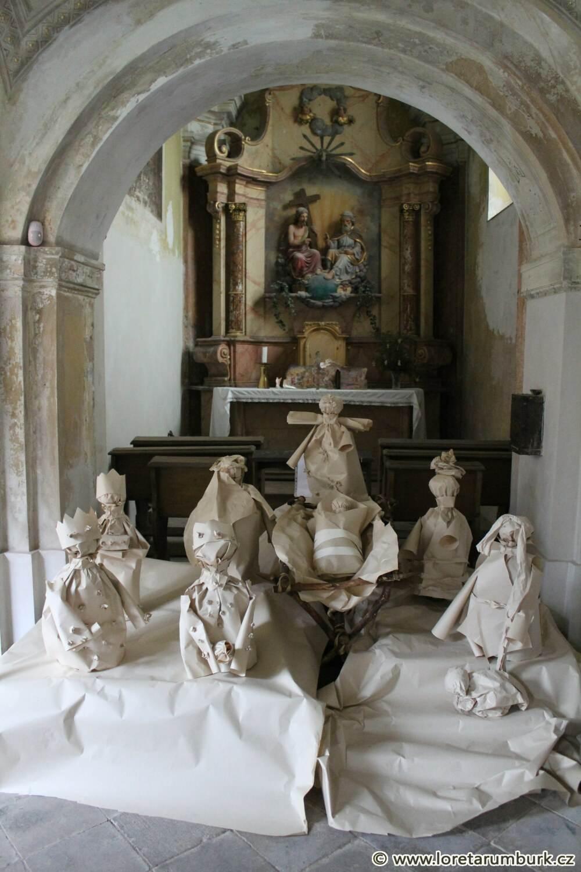 5, Loreta Rumburk, sekce D, kaple Nejsv Trojice, celkový stav, 28 11 2013, foto Klára Mágrová
