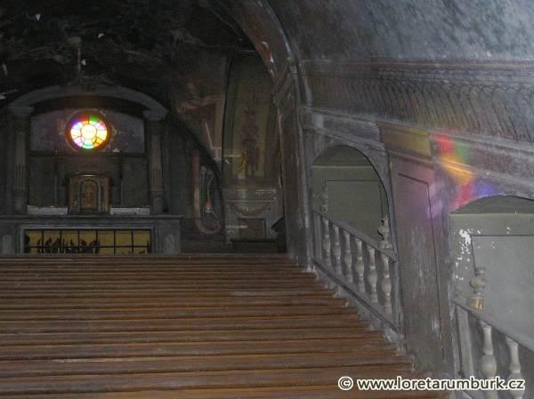 7, Svaté schody, Loreta v Rumburku, výchozí stav, foto Klára Mágrová, 2007