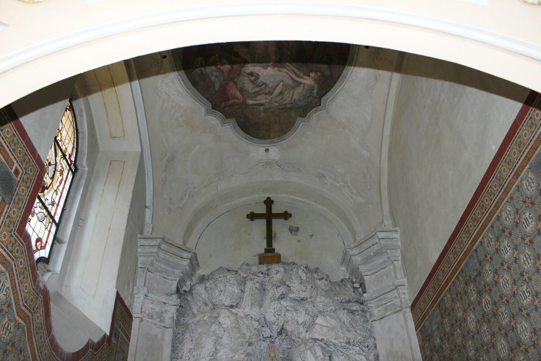 A1_Loreta Rumburk_kaple Panny Marie Lurdské před restaurováním_19 3 2015_foto Klára Mágrová