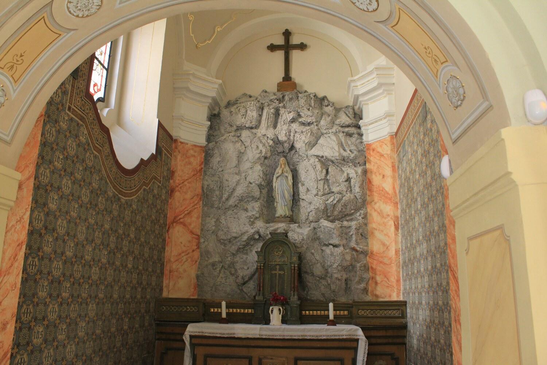 A2_Loreta Rumburk_kaple Panny Marie Lurdské po restaurování_27 11 2015_foto Klára Mágrová