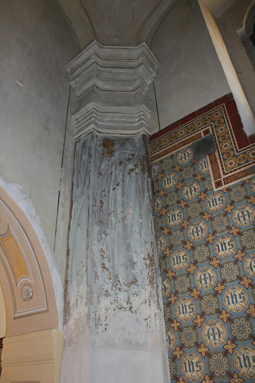 A3_Loreta Rumburk_kaple Panny Marie Lurdské před restaurováním výmalby_29 9 2014_foto Klára Mágrová