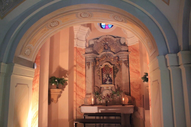 B3, Loreta Rumburk, restaurovaná kaple Pražského Jezulátka, 28 11 2015, foto Klára Mágrová