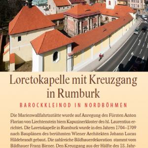 Loretokapelle in Rumburk Flayer