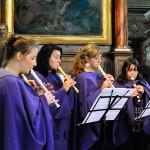 Dětský soubor Šenováček a Tyršovské zvonky, Loretánské slavnosti 2011 v Loretě v Rumburku, Foto Jiří Laštůvka