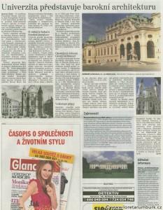 Ústecký denik, Výstava architektonických plánů, 14 12 2010