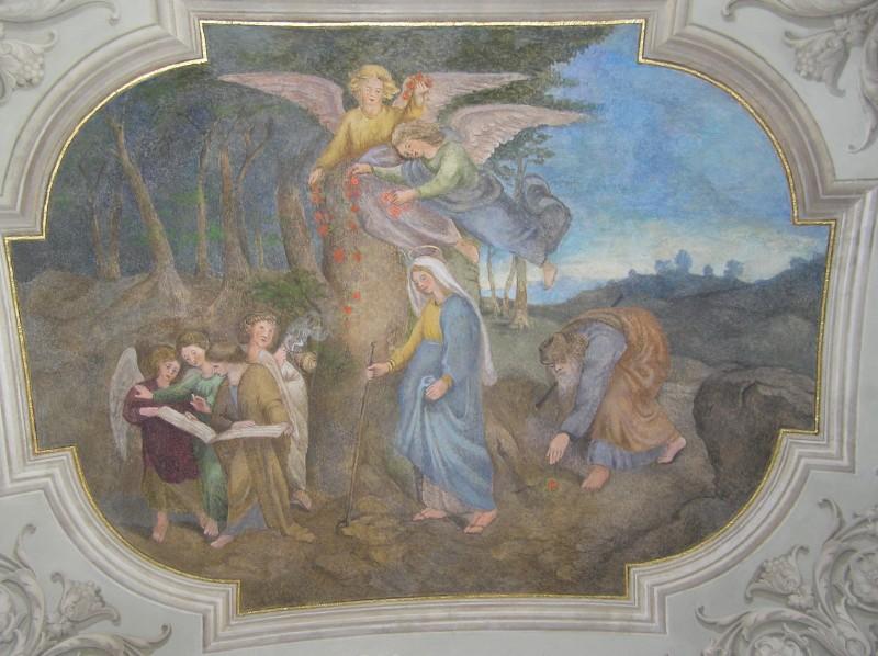 Ambit Lorety v Rumburku, Přechod přes hory Judské, stav po restaurování, 25 11 2007, foto Klára Mágrová
