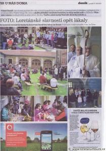 Děčínský deník, Loretánské slavnosti, 15 12 2012, s 10