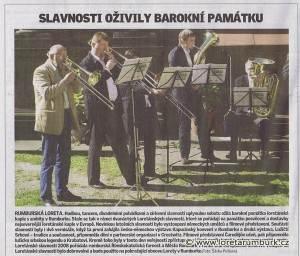 Děčínský deník, Loretánské slavnosti 2008, 15 9 2008