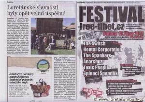 Děčínský deník, Loretánské slavnosti 2011, 21 9 2011, s 8