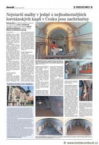 Děčínský deník, Obnova Svatých schodů, 6 9 2011