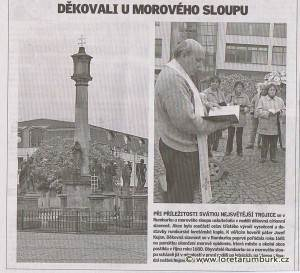Děčínský deník, Oslavy svátku Nejsvětější Trojice, 4 6 2007, s 10