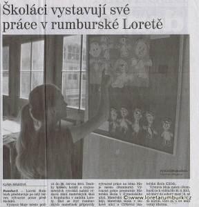 Děčínský deník, výstava Moje město, 9 6 2015, foto Klára Mágrová