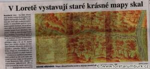 MF Dnes, Výstava starých map Českého Švýcarska, 16 2 2010