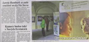 Právo. Loreta Rumburk je součástí Via Sacra. 10. 6. 2014, s. 11