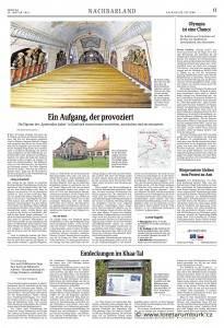 Saechsische Zeitung, 23 1 2014, NBL4 Heilige Stiege