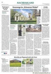 Saechsische Zeitung, Křížové cesty, 2a3 4 2011, s 22