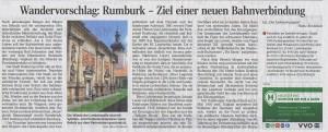 Saechsische Zeitung,Wandervorschlag,Rumburk Ziel einer neuen Bahnverbindung,červenec 2014
