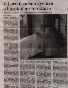 Děčínský deník, Výstava architektonických plánů, 24 1 2010