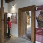 Výstava o křížových cestách Šluknovska v Expozici církevního umění Šluknovska. Foto Jiří Stejskal