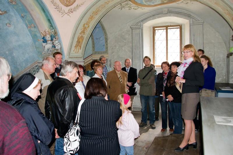 Prohlídka kaple Svatých schodů v Rumburku, foto Jiří Stejskal
