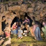 Klášterní betlém v Rumburku. Klanění tří mudrců. Foto Jiří Stejskal