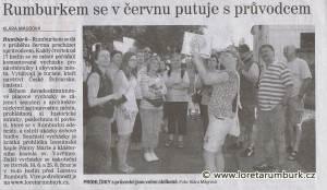 Děčínský děník, Rumburkem s průvodcem, 17 6 2015, s 2