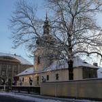 Loreta Rumburk_vstupní budova_zima_foto Klára Mágrová
